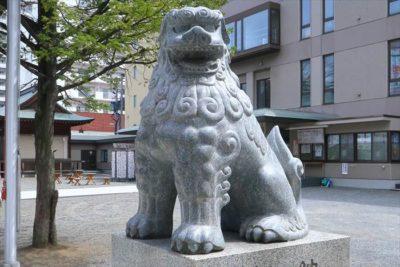 北海道神宮 頓宮 狛犬様