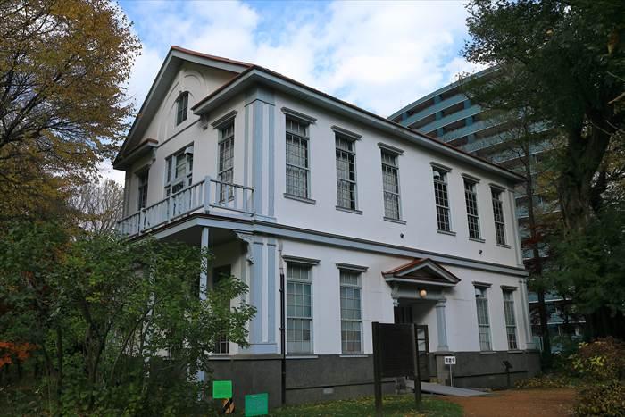 北海道大学付属植物園庁舎(旧札幌農学校動植物学教室)