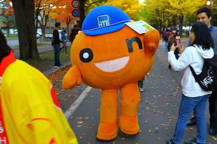 北海道大学 金葉祭 に来たonちゃん