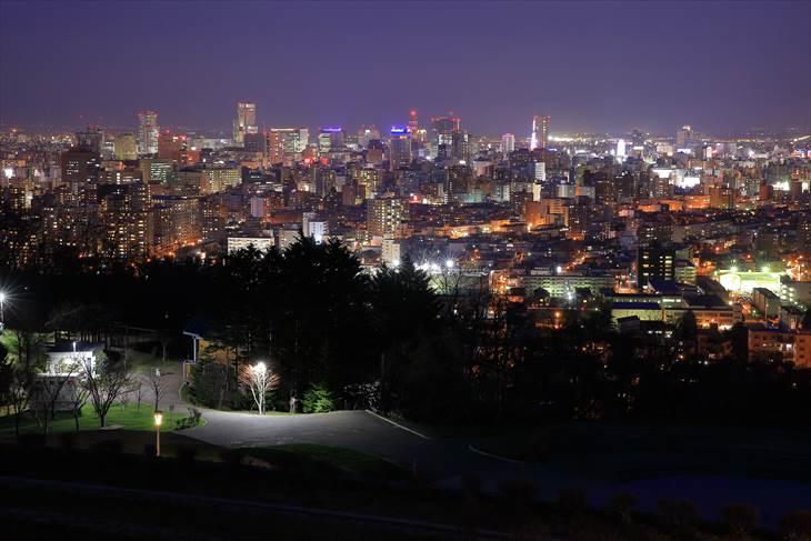 旭山記念公園からの夜景