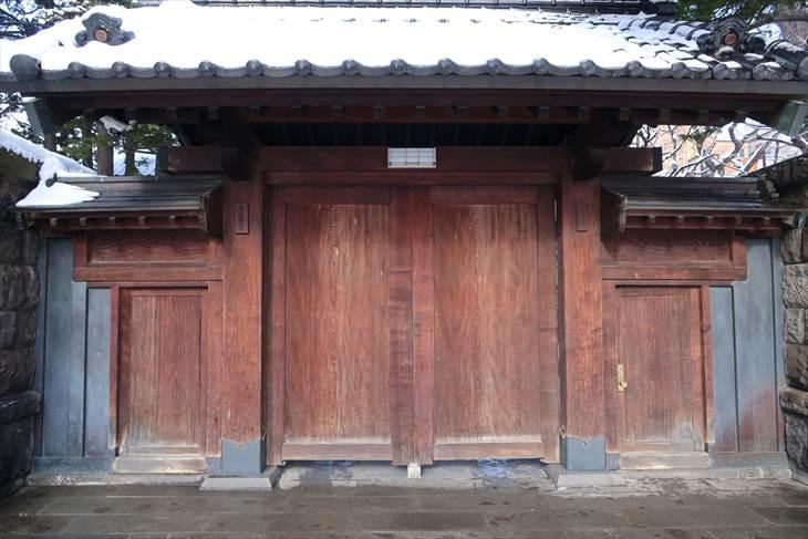 遠藤家住宅表門