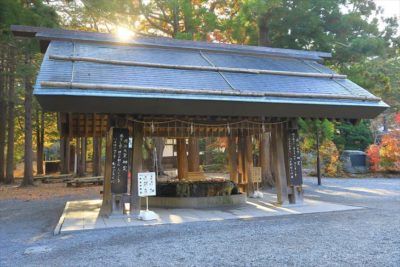 北海道神宮 手水舎