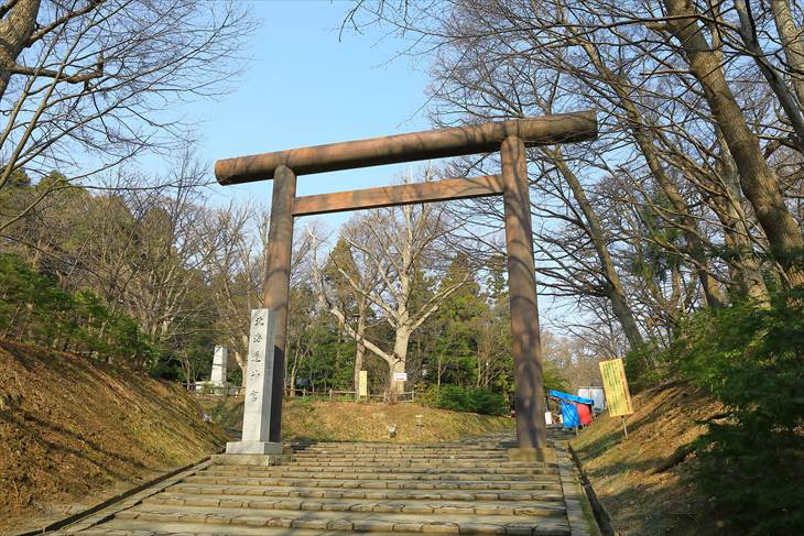 北海道神宮 円山公園口鳥居