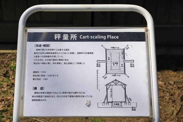 札幌農学校第2農場 秤量所