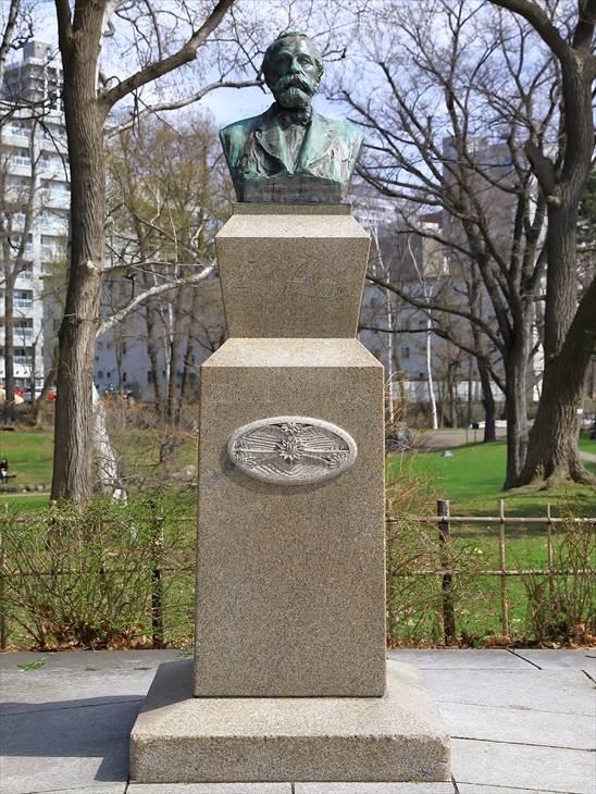 北海道大学 クラーク博士の胸像