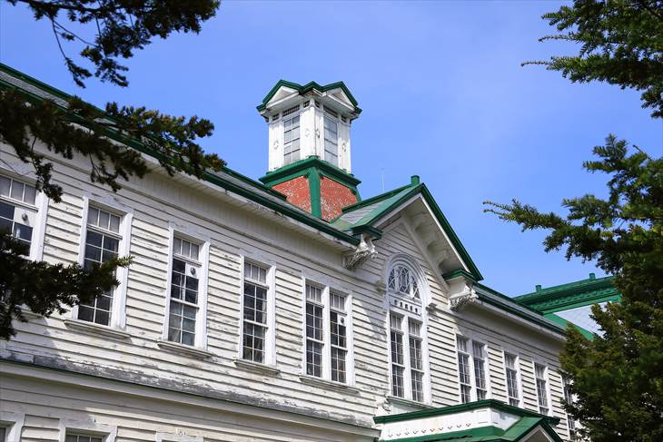 北海道大学古河記念講堂(旧東北帝国大学農科大学林学科教室)