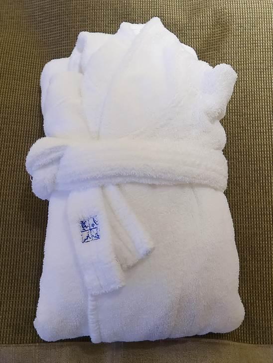 JRタワーホテル日航札幌のバスローブ