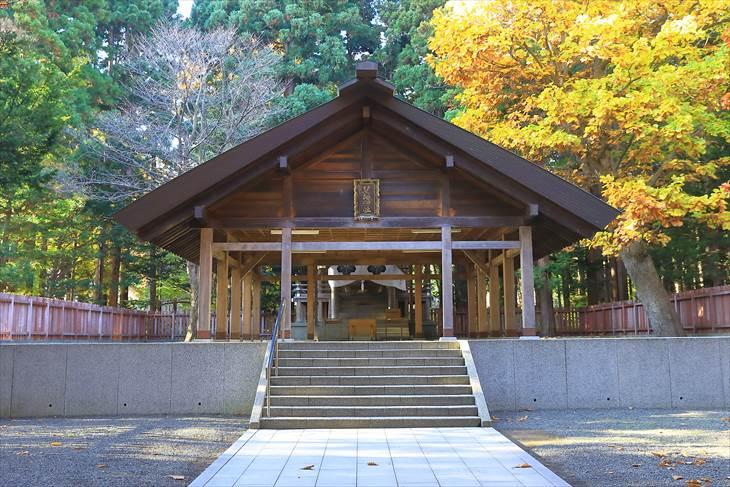 北海道神宮 開拓神社 拝殿
