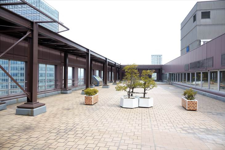 札幌市役所展望回廊 北側の眺め