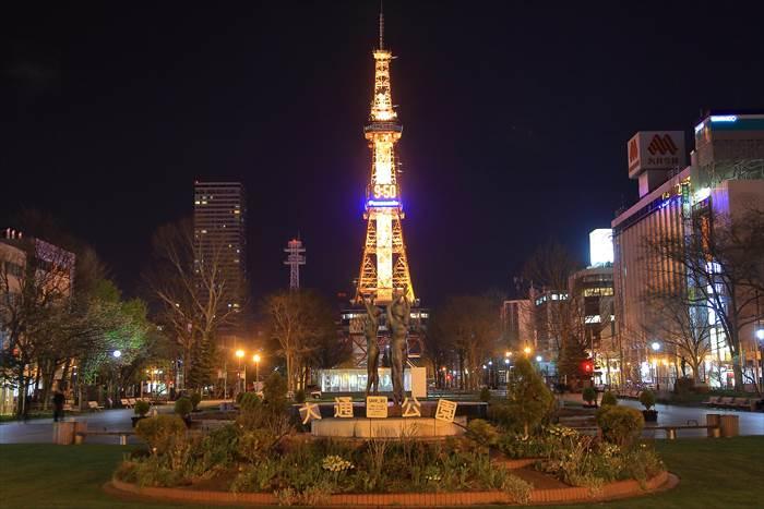 大通公園とさっぽろテレビ塔