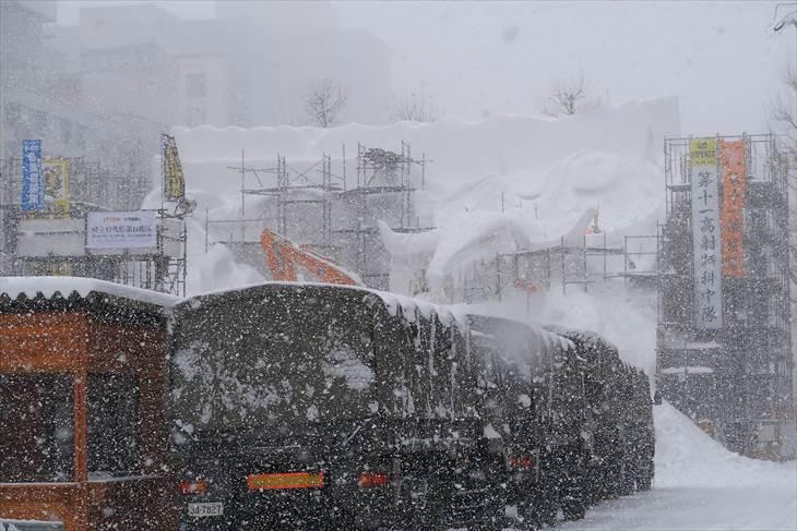 さっぽろ雪まつり2018 ファイナルファンタジー
