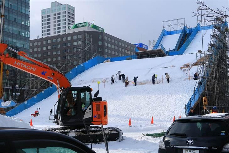 さっぽろ雪まつり「白い恋人 PARK AIR ジャンプ台」
