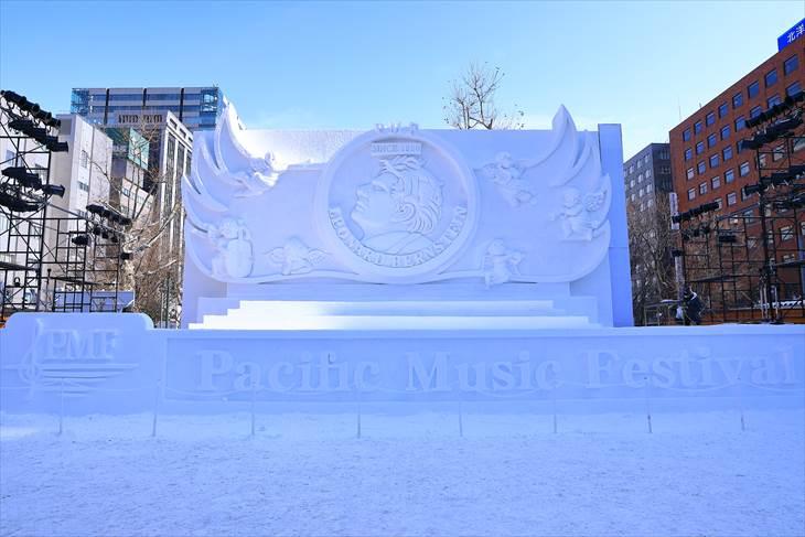 さっぽろ雪まつり 大通公園5丁目の様子