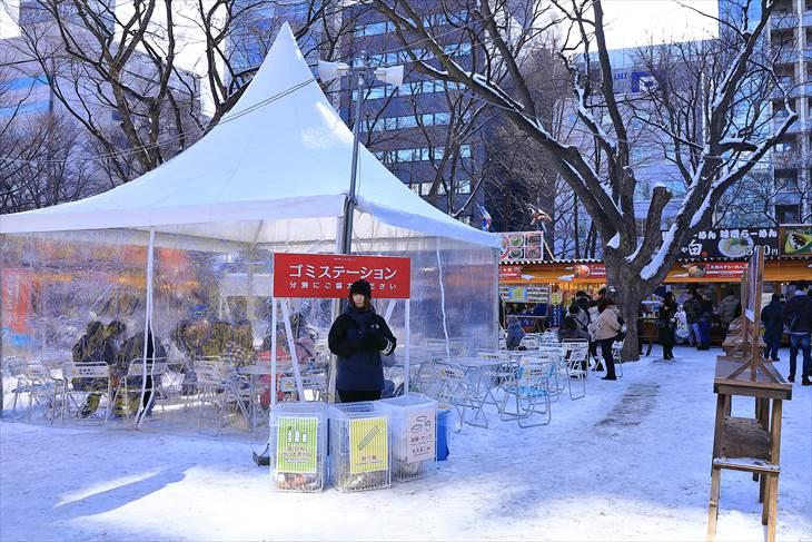 さっぽろ雪まつり 大通公園6丁目の様子
