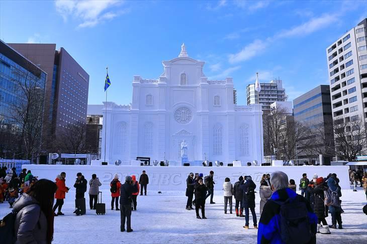 【大雪像】ストックホルム大聖堂