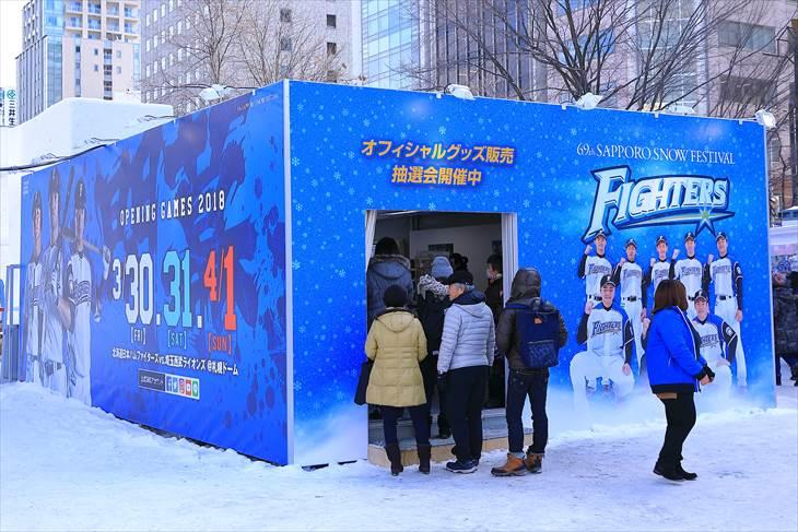 さっぽろ雪まつり 大通公園8丁目の様子