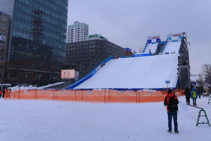 さっぽろ雪まつり 大通公園3丁目の様子