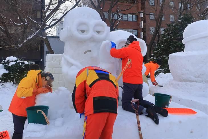 さっぽろ雪まつり 市民雪像