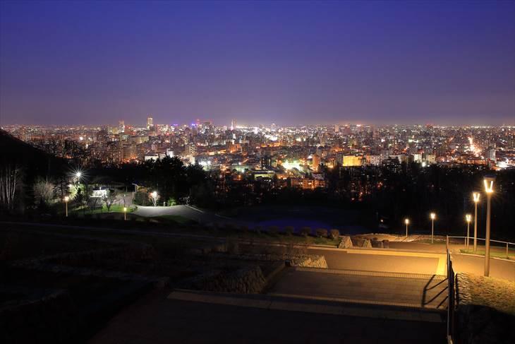 旭山記念公園の夜景