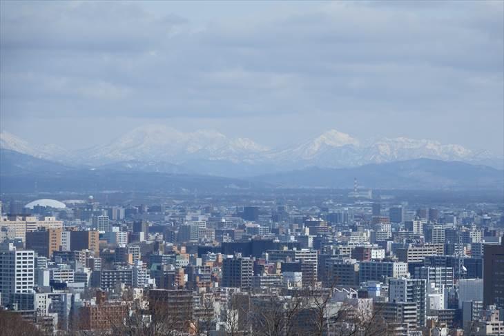 旭山記念公園からの景色