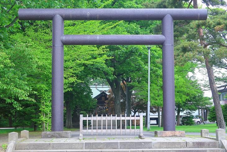 厚別神社 入口