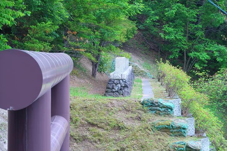厚別神社 石垣