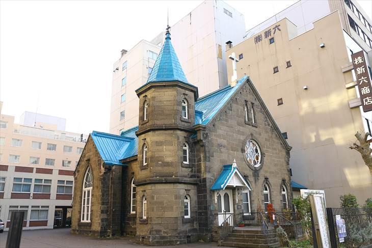 日本キリスト教団札幌教会(旧札幌美以教会堂)