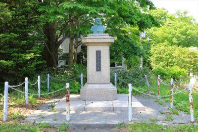 札幌伏見稲荷神社 阿由葉宗三郎翁之像