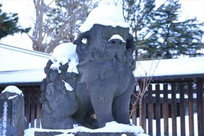 札幌護国神社の狛犬様