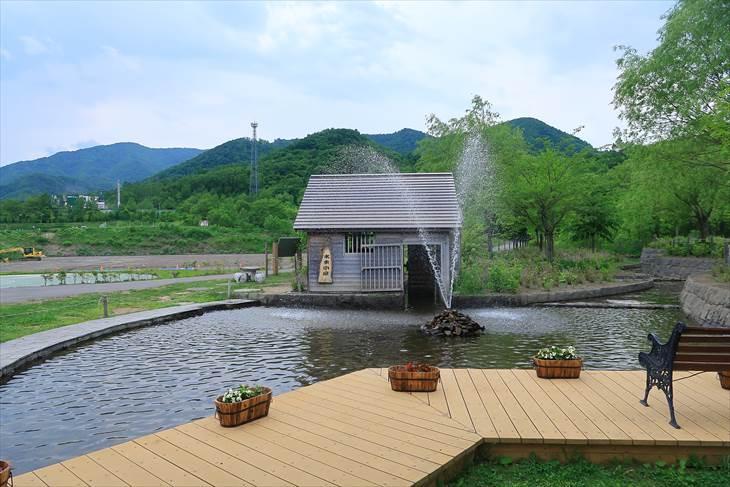 五天山公園 水車小屋