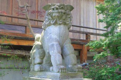 平岸天満宮・太平山三吉神社の狛犬様