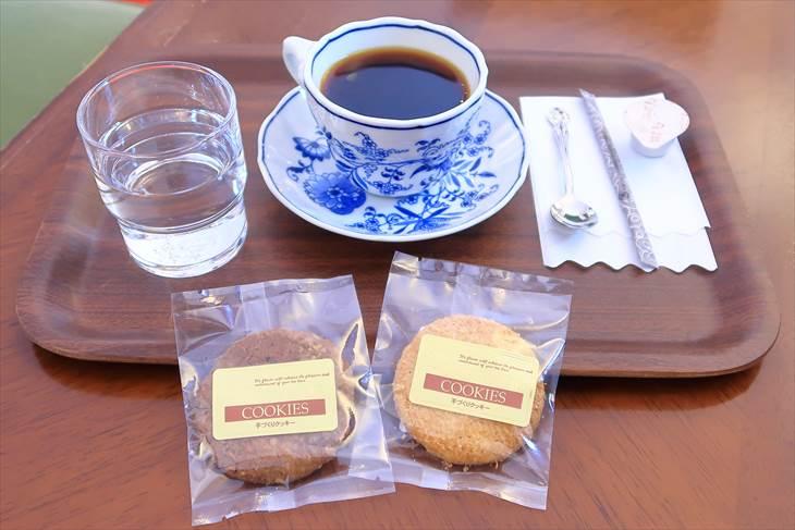豊平館の珈琲とクッキー