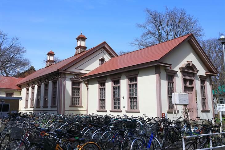 北海道大学旧札幌農学校図書館読書室