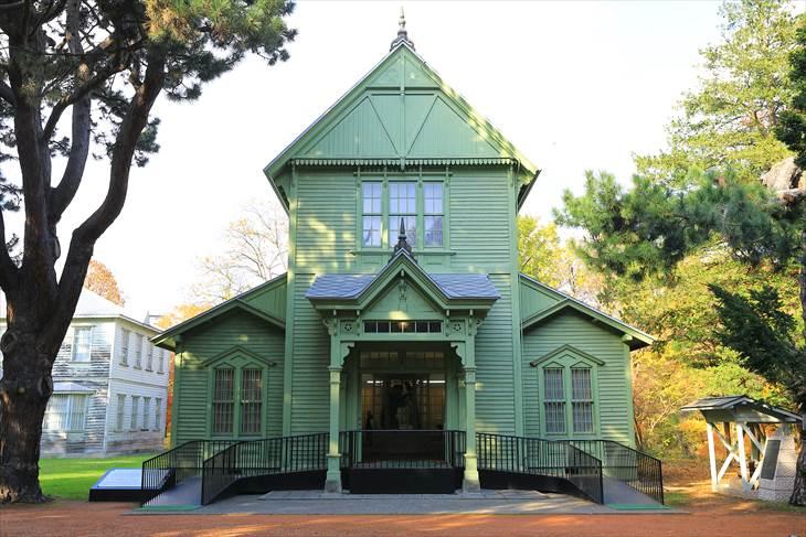 北海道大学農学部植物園・博物館 博物館本館