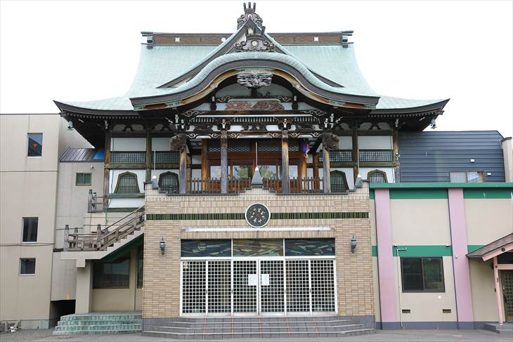 妙見山 本龍寺 本堂