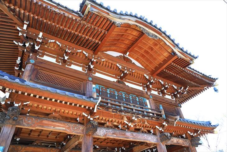 建法山 浄恩寺の鐘楼山門