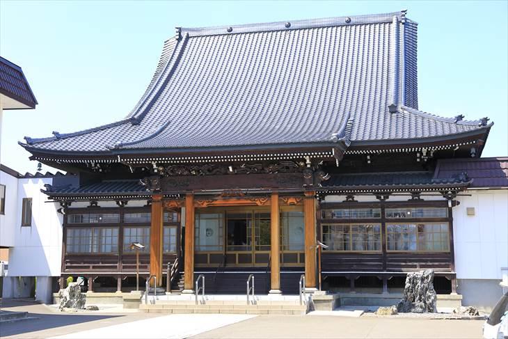 建法山 浄恩寺の本堂