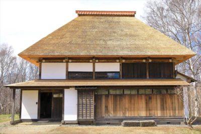 北海道開拓の村 旧菊田家農家住宅