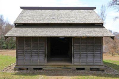 北海道開拓の村 旧河西家米倉