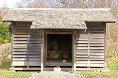 北海道開拓の村 旧山田家養蚕板倉