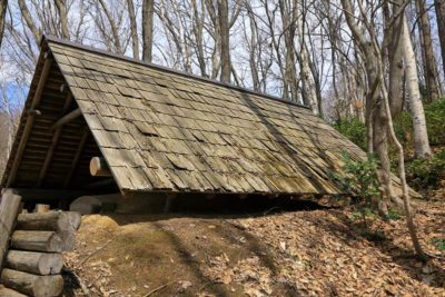 北海道開拓の村 炭焼小屋