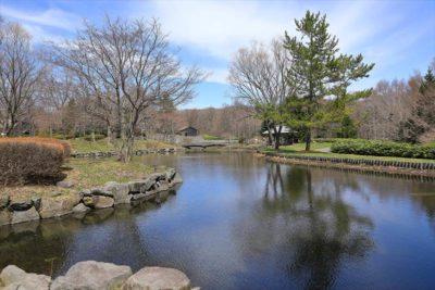 北海道開拓の村 海と池