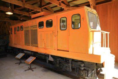 北海道開拓の村 森林鉄道機関庫