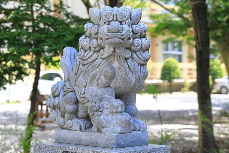 琴似神社 狛犬