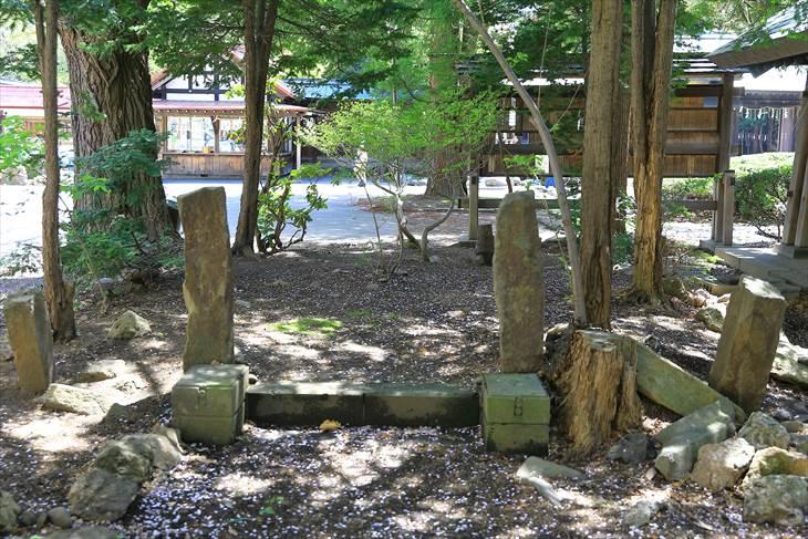 琴似神社 琴似兵村五十年記念塔跡