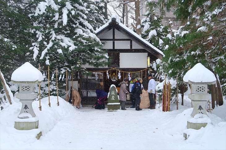 琴似神社の境内社 安全神社