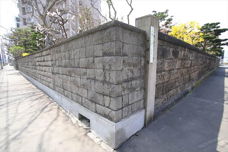 黒田家住宅石塀