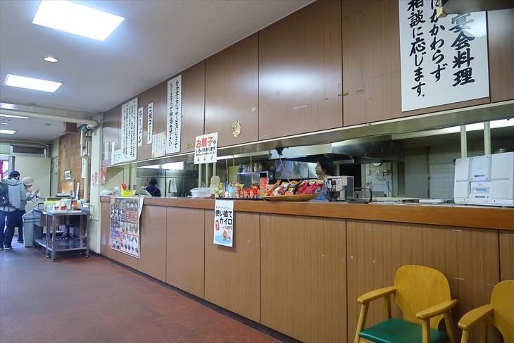 真駒内屋内競技場アリーナ食堂