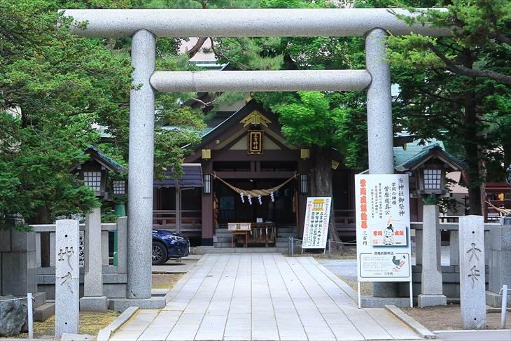 三吉神社 鳥居