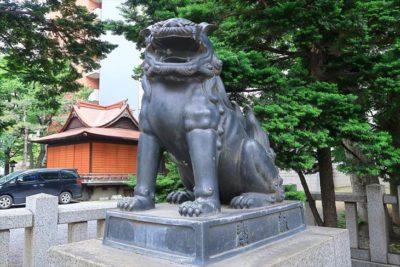 三吉神社 狛犬様